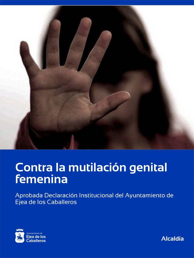 El Ayuntamiento de Ejea de los Caballeros aprueba una Declaración Institucional contra la mutilación genital femenina