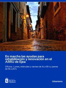 Lee más sobre el artículo Abierto el plazo para solicitar ayudas para actuaciones de rehabilitación y renovación del ARRU en Ejea de los Caballeros
