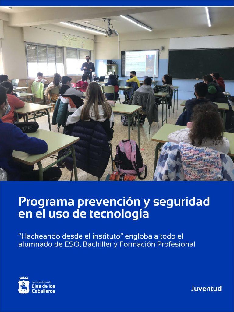 Prevención y seguridad en el uso de tecnología para los jóvenes del municipio