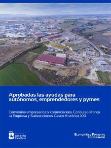 El Ayuntamiento de Ejea de los Caballeros continúa apoyando a personas emprendedoras, trabajo autónomo y pymes