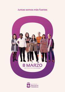 «Juntas somos más fuertes» : El lema para conmemorar el 8 de Marzo y acompañar el programa de actividades de Igualdad del Ayuntamiento de Ejea de los Caballeros