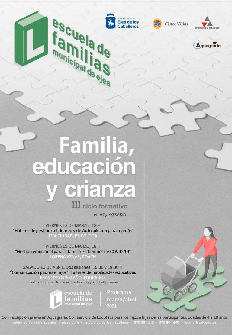 III Jornadas de familia, educación y crianza