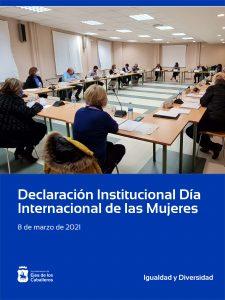 Declaración Institucional del Día Internacional de las Mujeres 2021