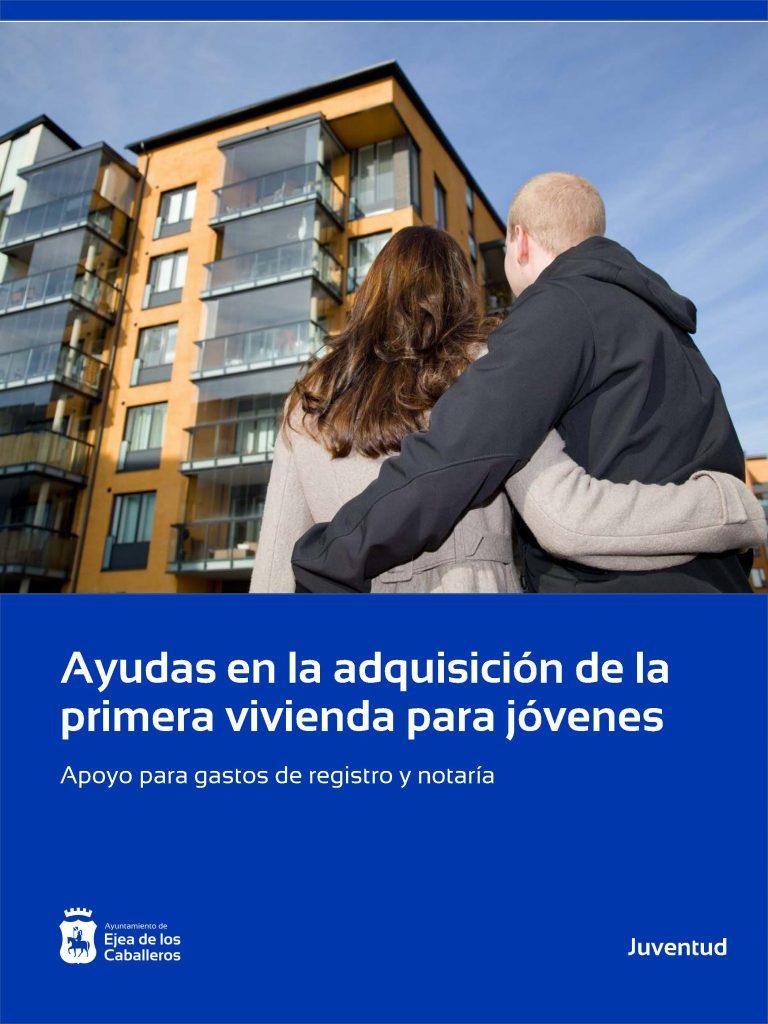Ayudas de registro y notaría para jóvenes de Ejea y sus Pueblos en la adquisición de su primera vivienda