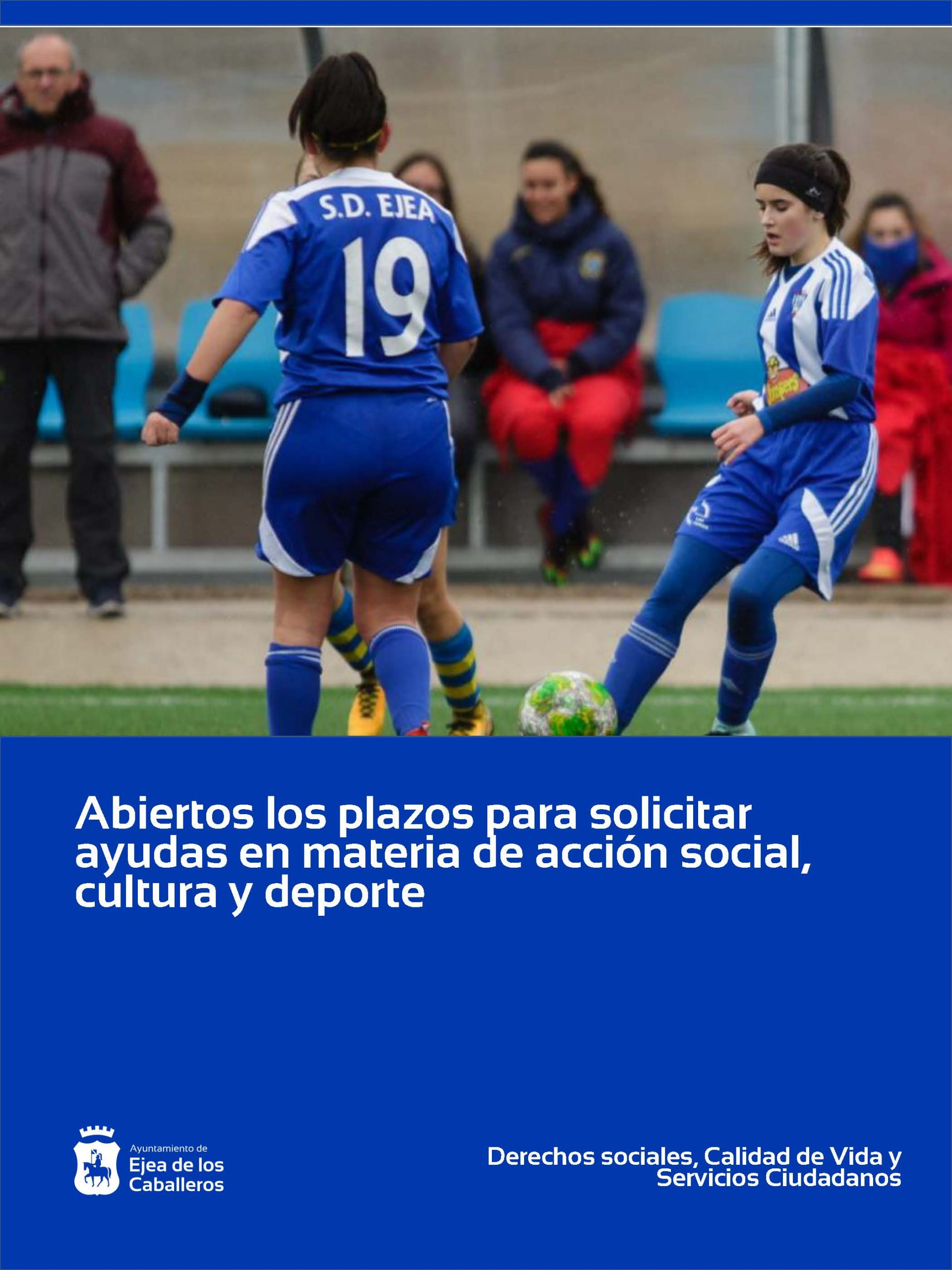 Ayudas en materia de acción social, cultura y deporte para entidades de Ejea de los Caballeros