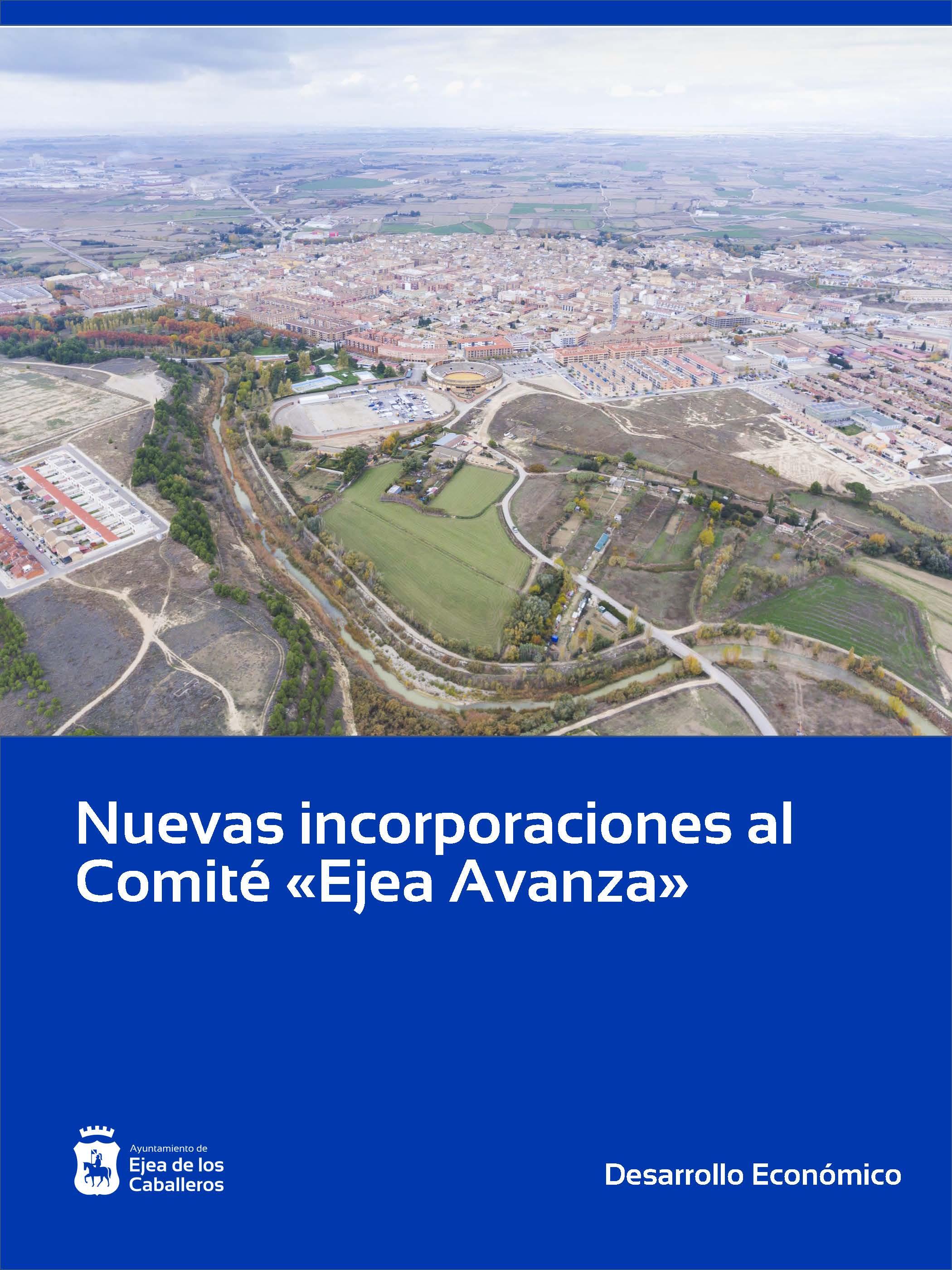Los ejeanos Marcelino Cortés y Mariano Chóliz se incorporan al comité «Ejea Avanza»