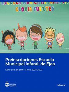 """Apertura de plazos para la Escuela Municipal Infantil """"Gloria Fuertes"""""""