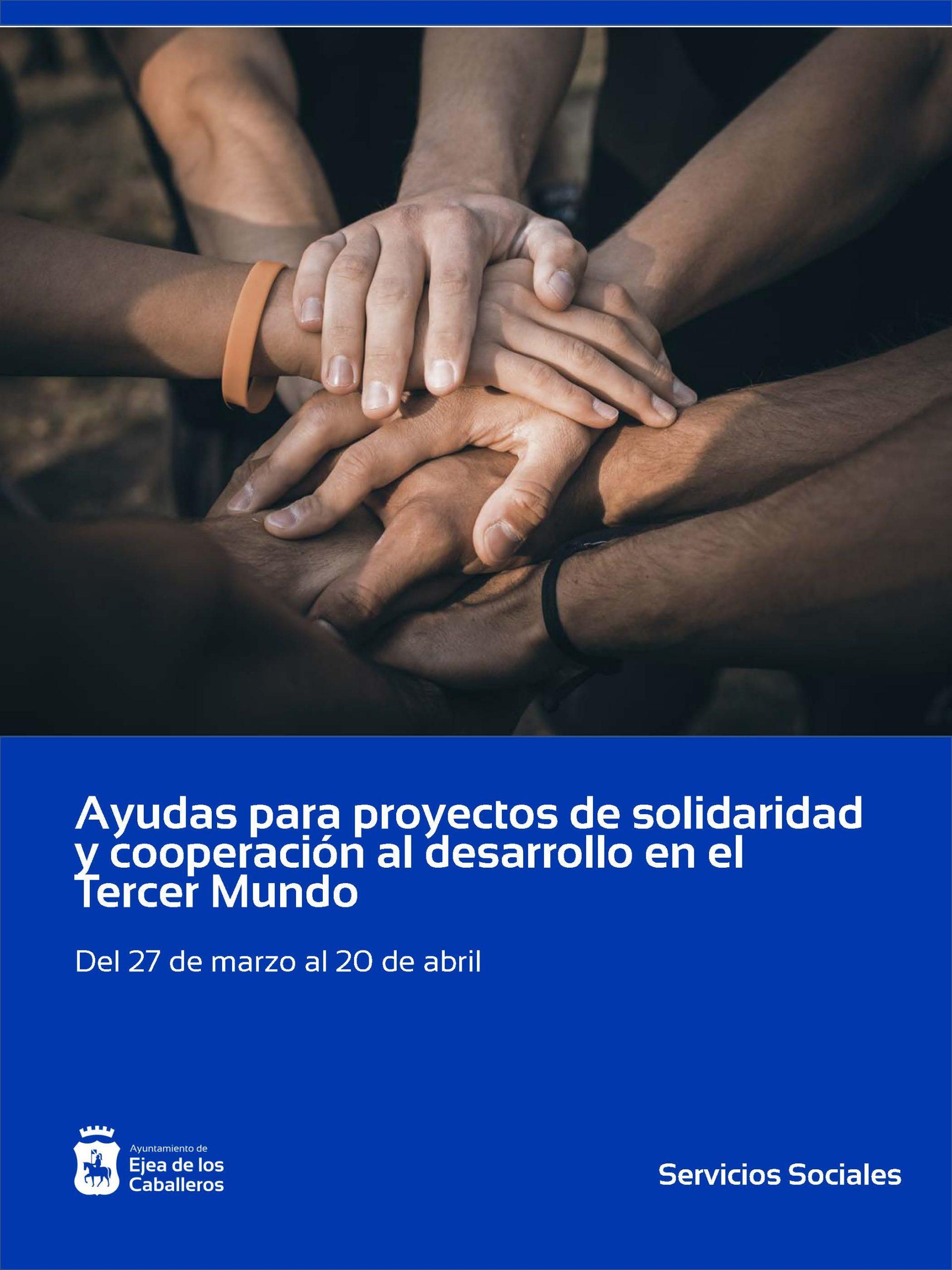 """Subvenciones en materia de solidaridad y cooperación al desarrollo para el """"Tercer Mundo"""""""