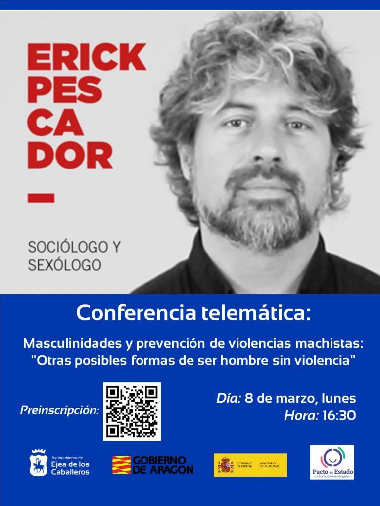 Conferencia telemática con Erik Pescador