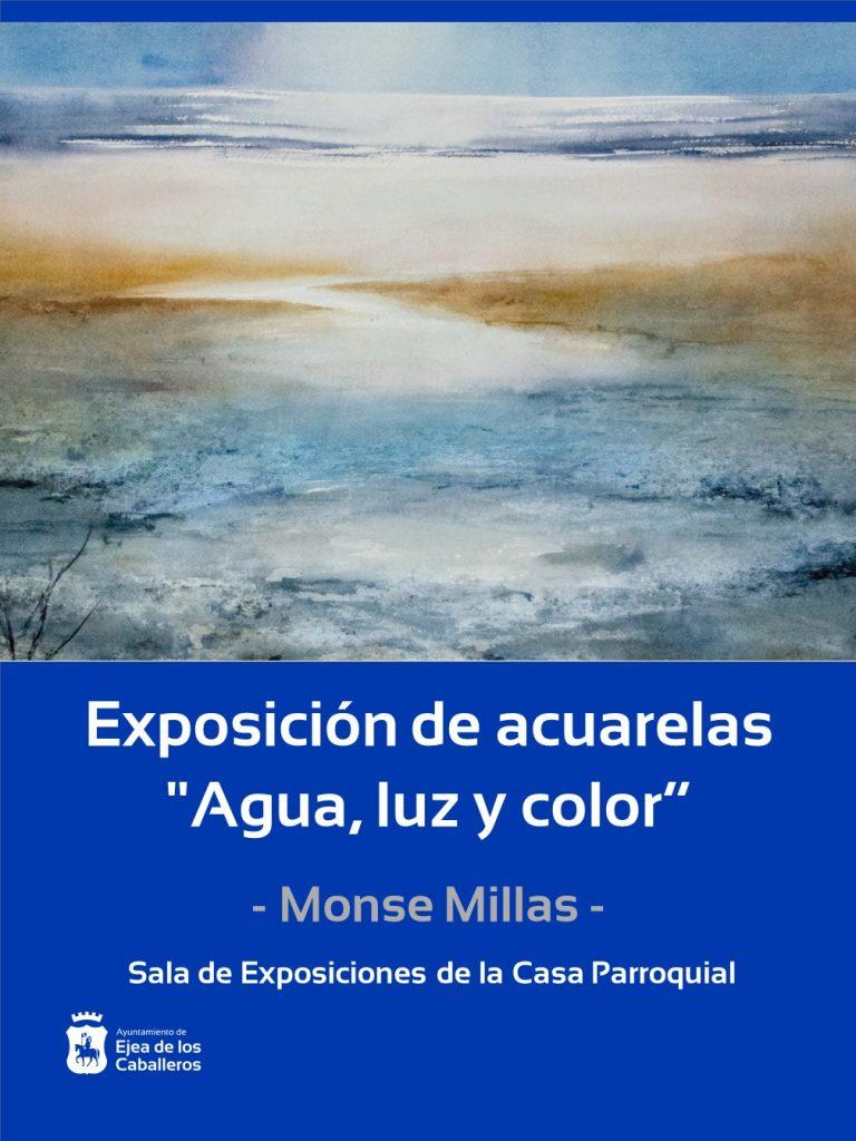 Inauguración exposición «Agua, luz y color»