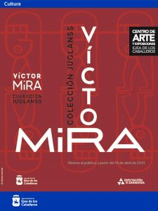 El Centro de Artes y Exposiciones de Ejea acoge una muestra de obras del pintor Víctor Mira, pertenecientes a la colección particular del ejeano Ángel Navarro Pardiñas
