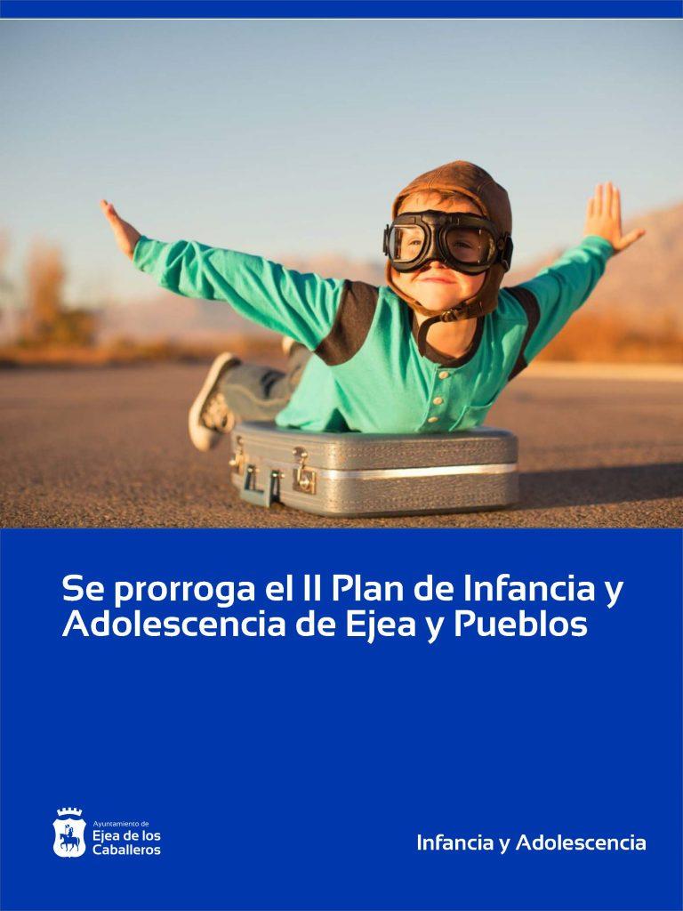 Se prorroga el II Plan de Infancia y Adolescencia de Ejea de los Caballeros y sus Pueblos