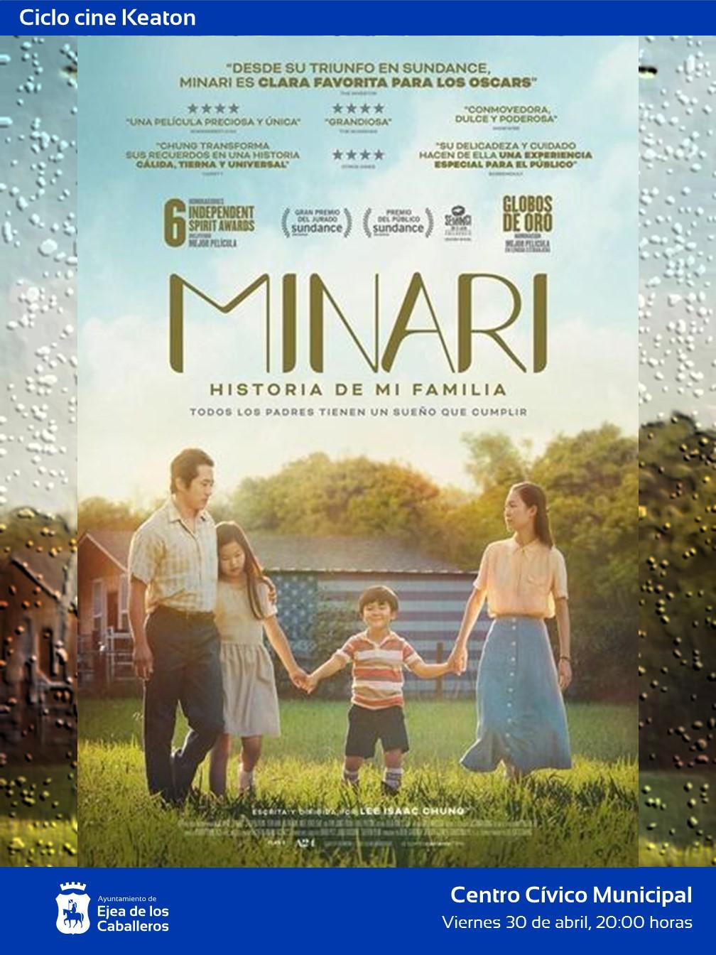 El ciclo de cine Keaton propone «Minari, historia de mi familia», un delicado retrato de la lucha por la existencia