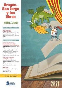 Aragón, San Jorge y los Libros: Una jornada cultural para celebrar al Patrón de Aragón y el Día del Libro