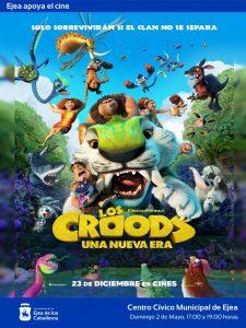 """Ejea apoya el cine: """"Los Croods. Una nueva era"""", una película de animación con originales y divertidas aventuras"""