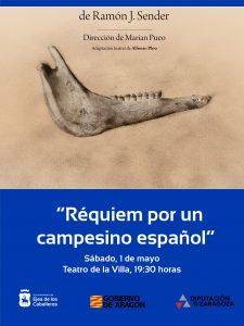 Lee más sobre el artículo Teatro Che y Moche representará «Réquiem por un campesino español», adaptación teatral de la novela del escritor aragonés Ramón J. Sender