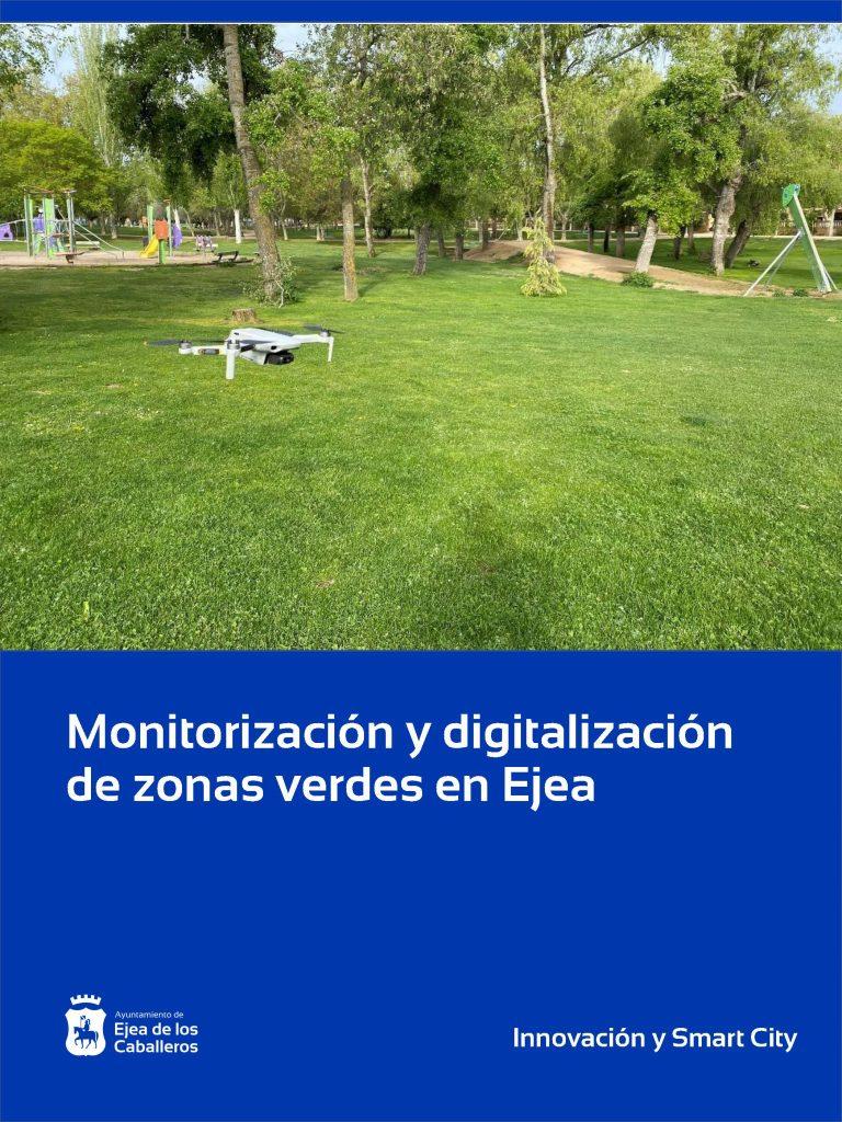 Comienza la monitorización y digitalización para hacer más sostenibles las zonas verdes de Ejea de los Caballeros