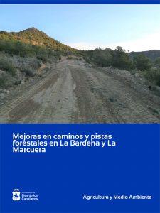 Mejora de caminos y pistas forestales en las zonas de La Bardena y La Marcuera de Ejea de los Caballeros