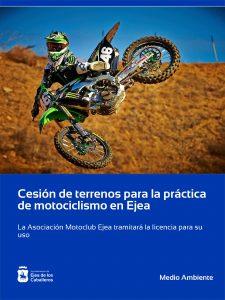 Cesión de terrenos para la práctica del motociclismo a la Asociación Motoclub Ejea