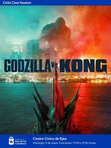 """Lee más sobre el artículo Ejea apoya el cine: Acción, espectáculo y ciencia-ficción en la película """"Godzilla vs Kong"""""""