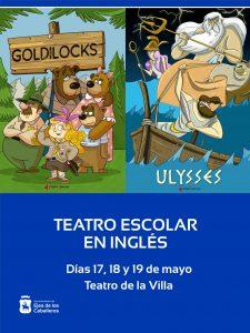 Los colegios de primaria participan de la experiencia del teatro en inglés con la compañía Theatre4schools