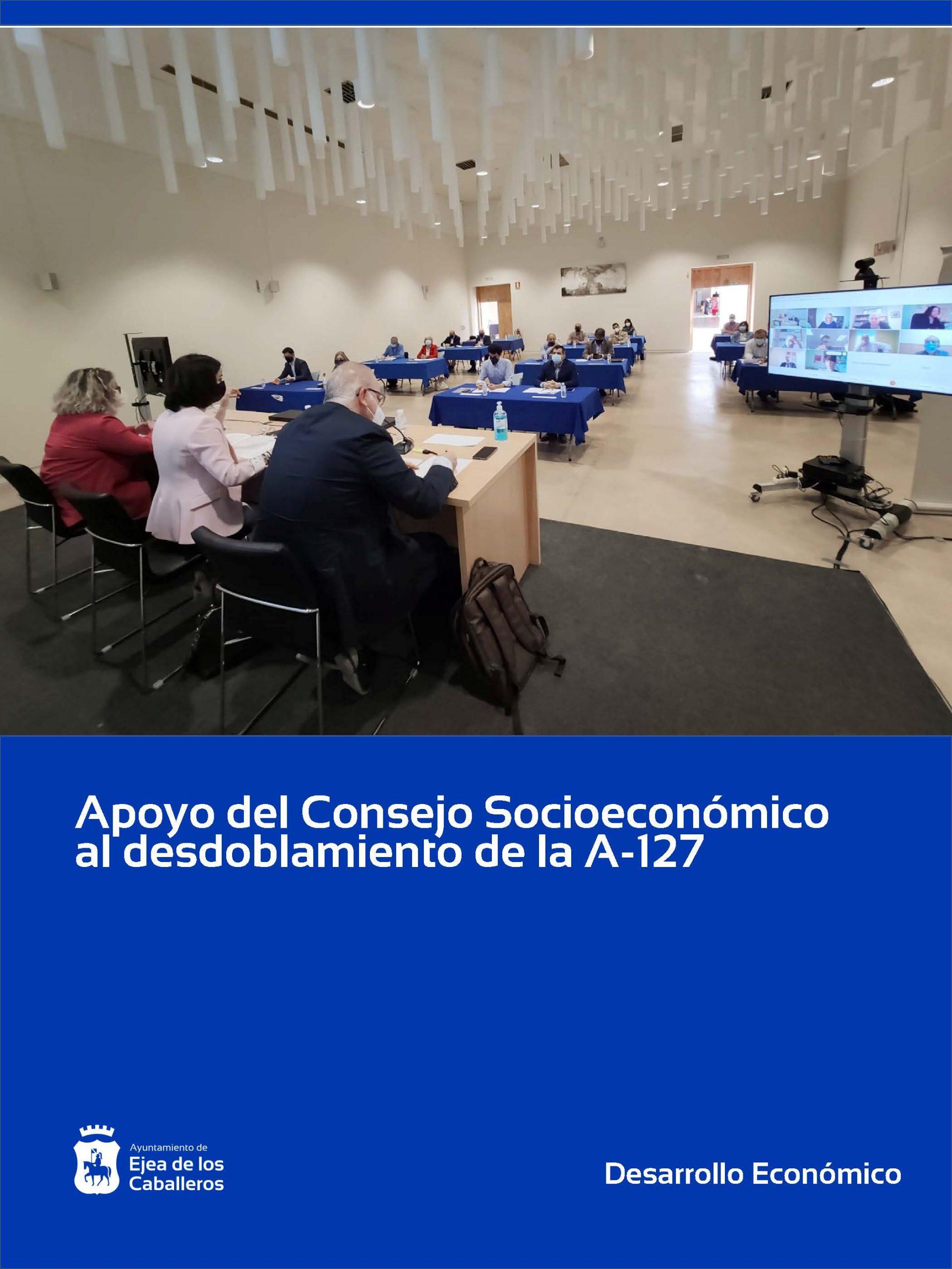 Firme apoyo del Consejo Socioeconómico de Ejea al desdoblamiento de la A-127