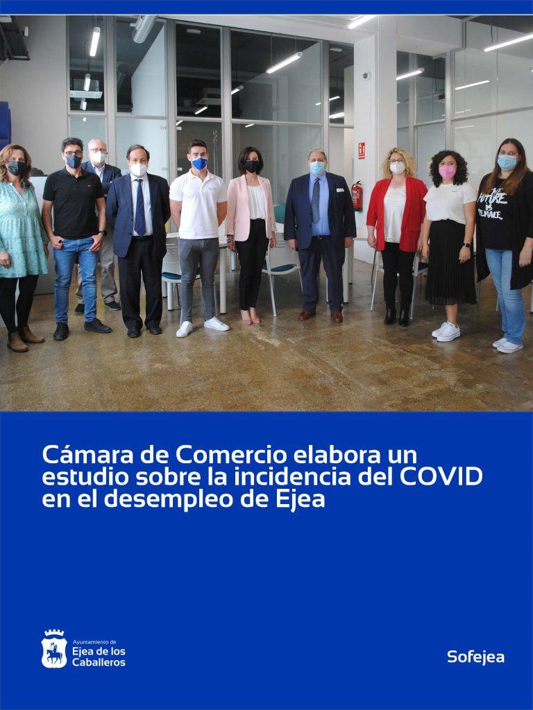 Cámara de Comercio de Zaragoza elaborará un estudio sobre la incidencia de la crisis de la COVID en el desempleo de Ejea