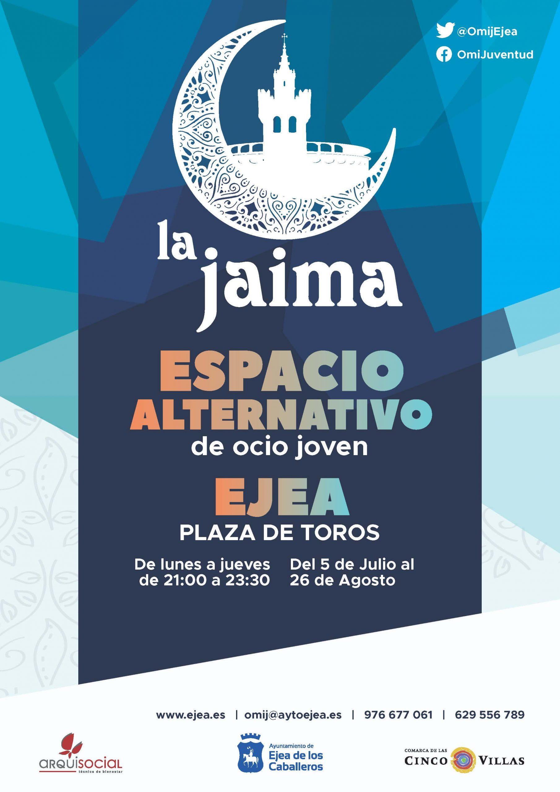 En este momento estás viendo La Jaima, el espacio seguro de ocio juvenil para disfrutar durante el verano