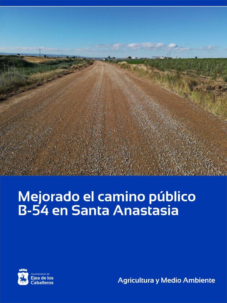 Lee más sobre el artículo Mejoras en la capa de rodadura de caminos públicos en Santa Anastasia