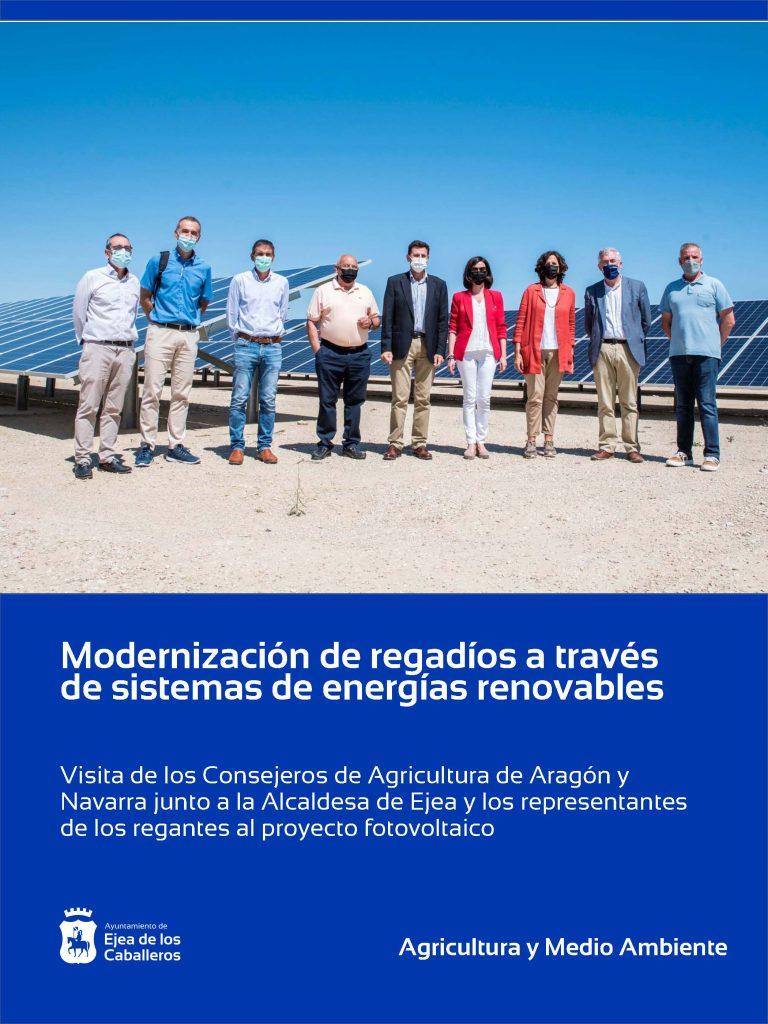 Lee más sobre el artículo Modernización de regadíos a través de sistemas de energías renovables que permitan reducir costes