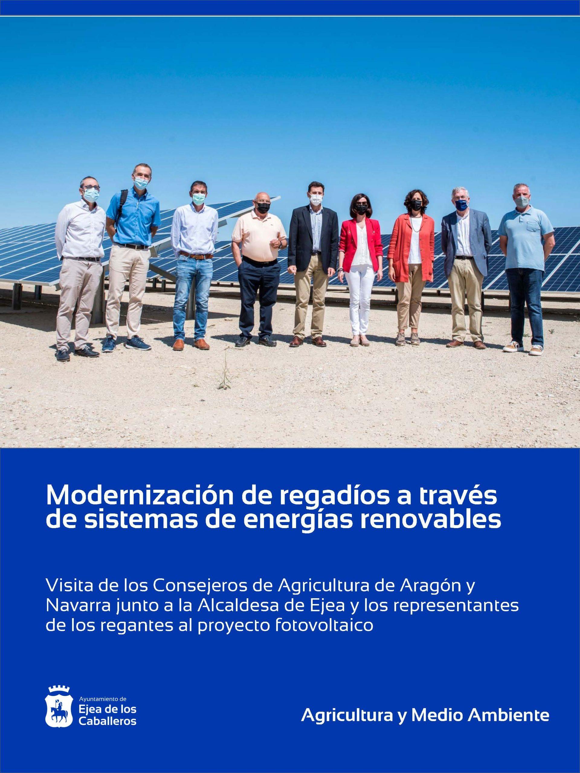 Modernización de regadíos a través de sistemas de energías renovables que permitan reducir costes