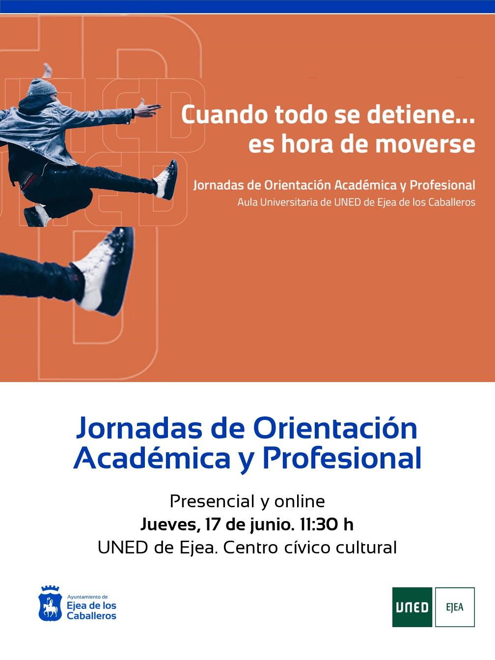 Jornada de Orientación Académica y Profesional del Aula UNED de Ejea