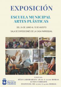 Una exposición de la Escuela Municipal de Artes Plásticas pone en valor los trabajos realizados en sus diferentes talleres