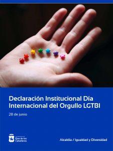 Lee más sobre el artículo Ejea aprueba una Declaración Institucional con motivo del Día Internacional del Orgullo LGTBI