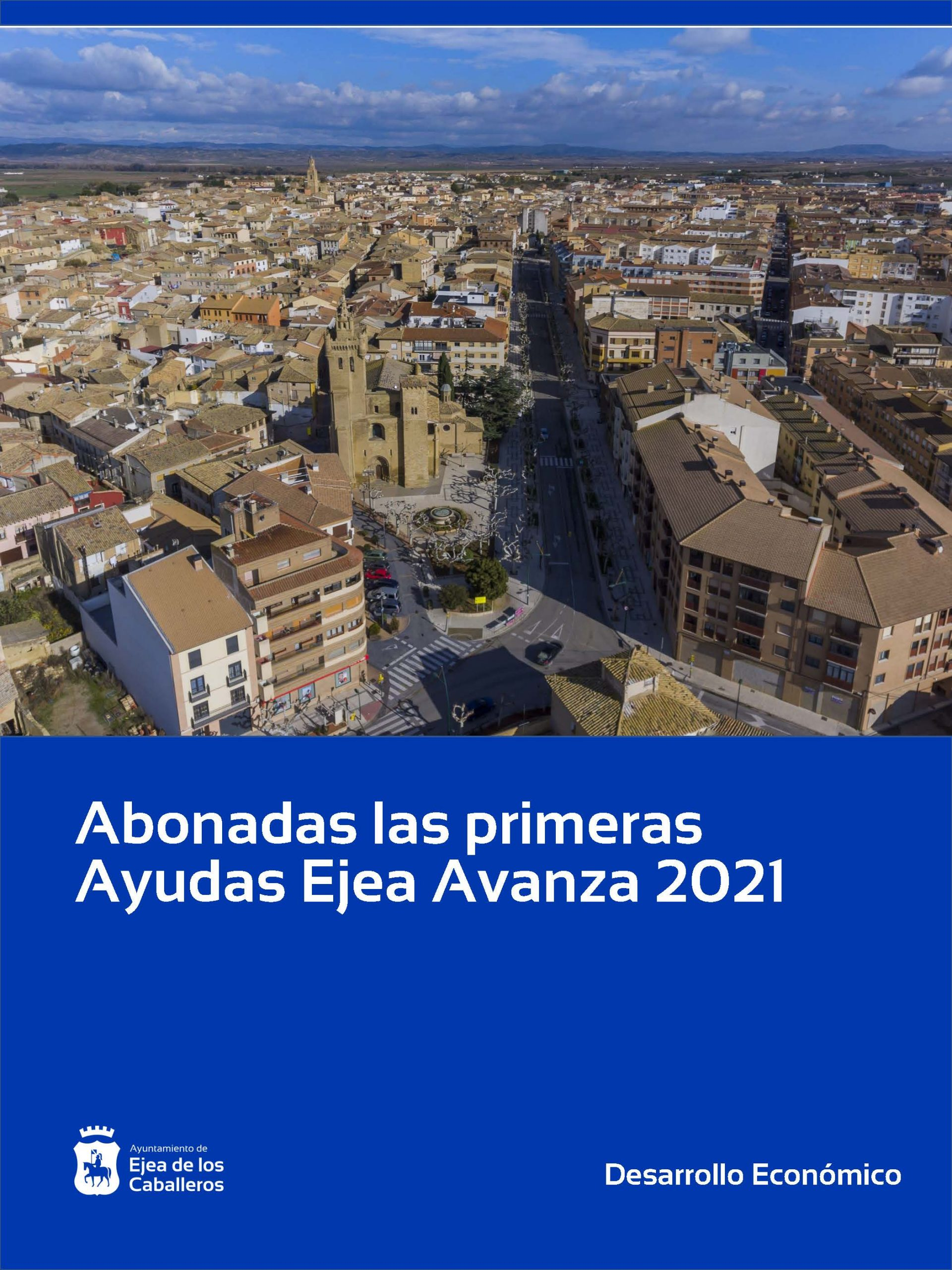 Pagadas 64 ayudas Ejea Avanza 2021 por valor de 131.600 €