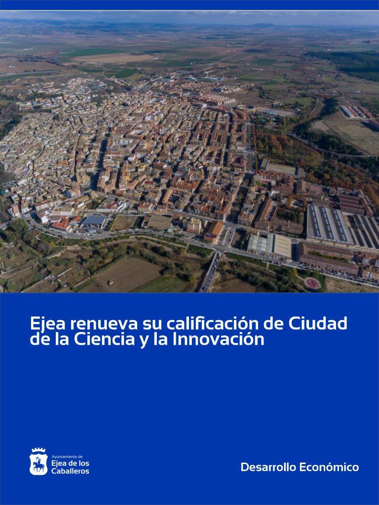 Ejea renueva su calificación de Ciudad de la Ciencia y la Innovación