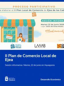 El proceso participativo del II Plan Local de Comercio de Ejea arranca con una sesión informativa dirigida a la ciudadanía