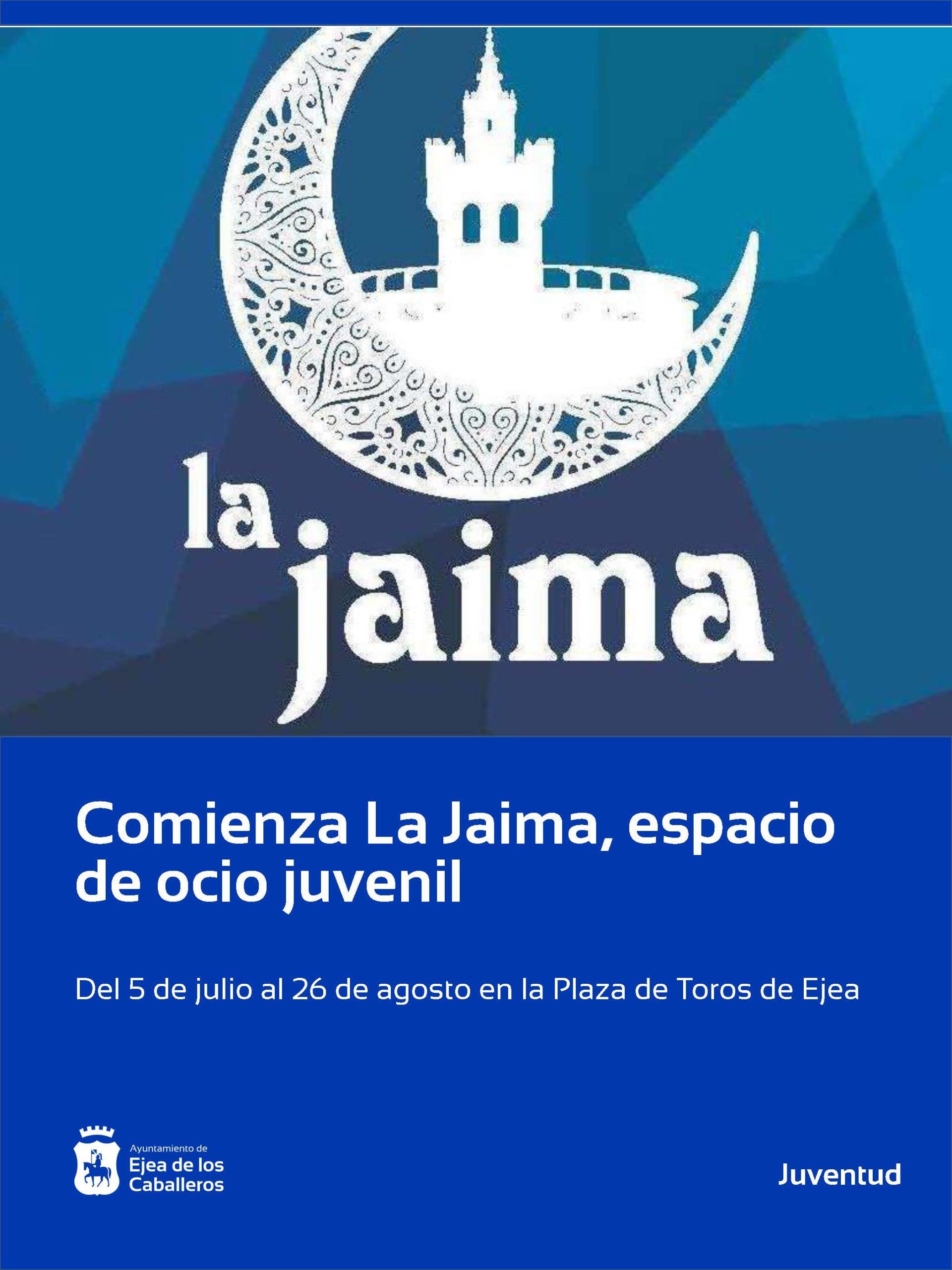 En este momento estás viendo Comienza La Jaima, el espacio de ocio juvenil para las noches de verano