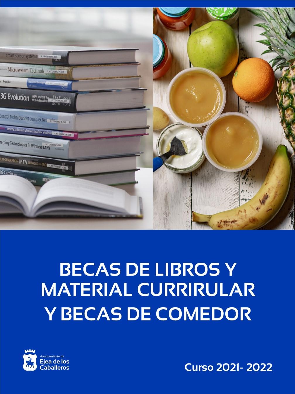 Ya se pueden solicitar las becas para libros, material curricular y comedor para el próximo curso escolar