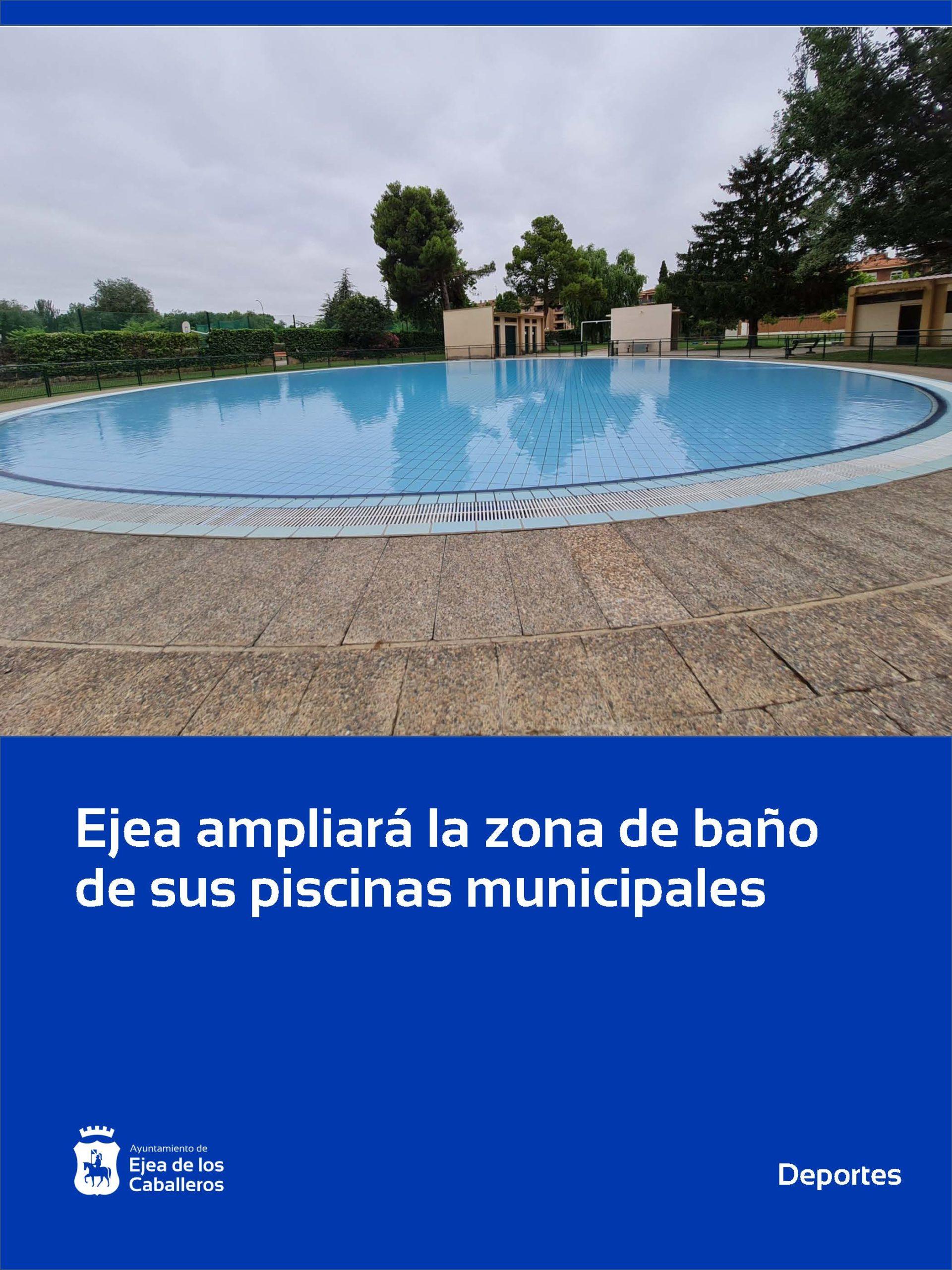 En este momento estás viendo Aprobadas las obras de ampliación de la zona de baño de las piscinas de Ejea