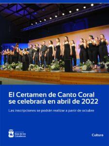 Ejea volverá a celebrar su Certamen de Canto Coral en 2022