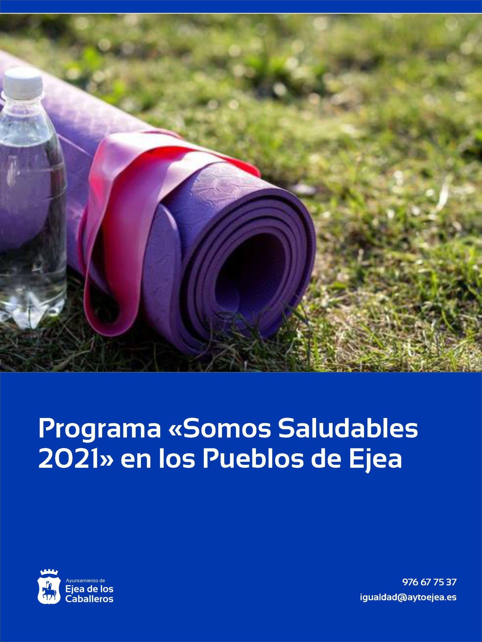 «Somos Saludables 2021» llega a los pueblos con propuestas de actividad física