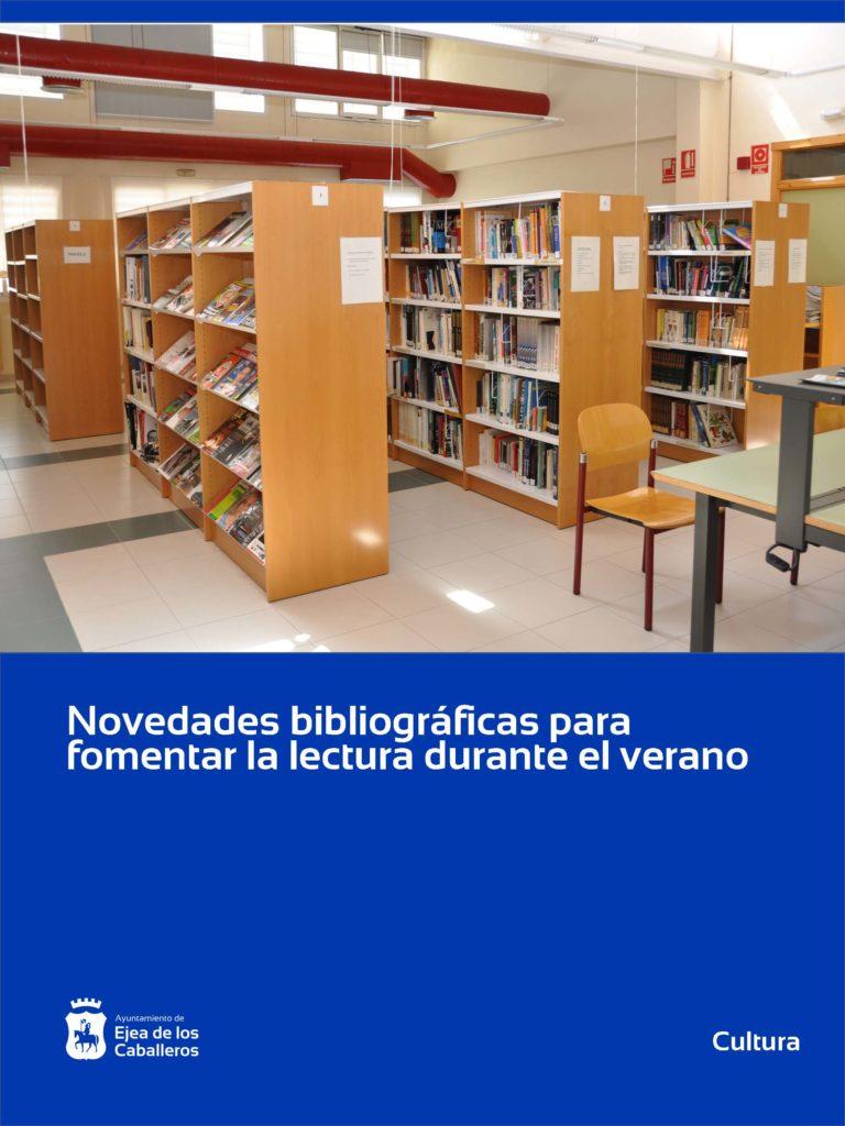 Novedades bibliográficas para facilitar la lectura durante el verano