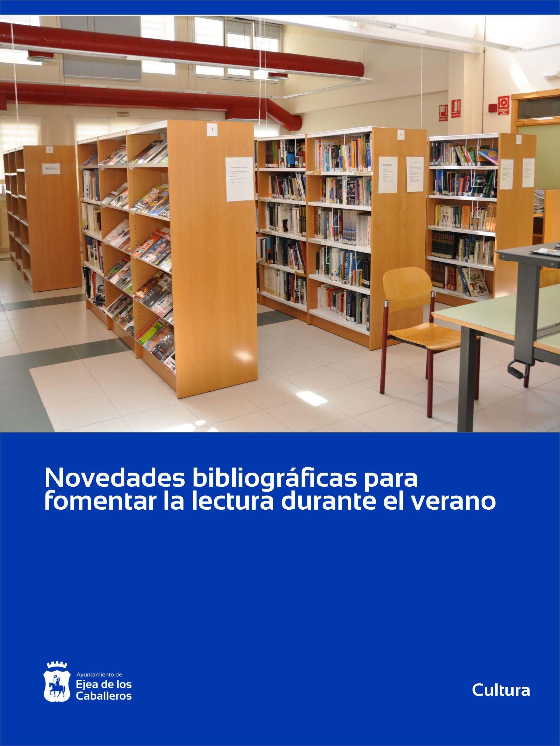 En este momento estás viendo Novedades bibliográficas para facilitar la lectura durante el verano