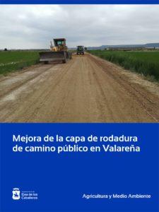 Lee más sobre el artículo Mejora de la capa de rodadura en camino público del paraje de Berni en Valareña