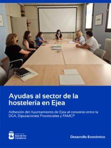 El Ayuntamiento de Ejea colaborará para que los hosteleros ejeanos reciban el total de las ayudas para hostelería y restauración