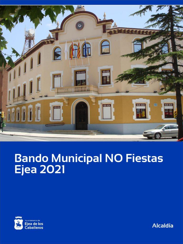 Bando Municipal – NO Fiestas Ejea 2021