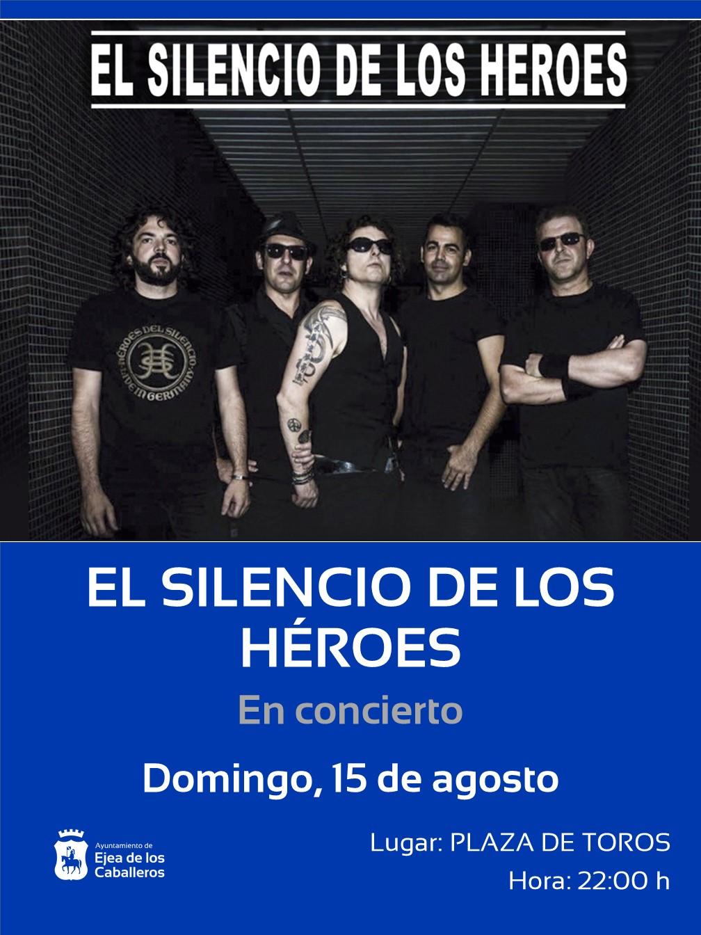 """En este momento estás viendo Avanza """"¡SIGAMOS APLAUDIENDO!"""" con el concierto de la gran banda tributo """"El Silencio de los Héroes"""""""
