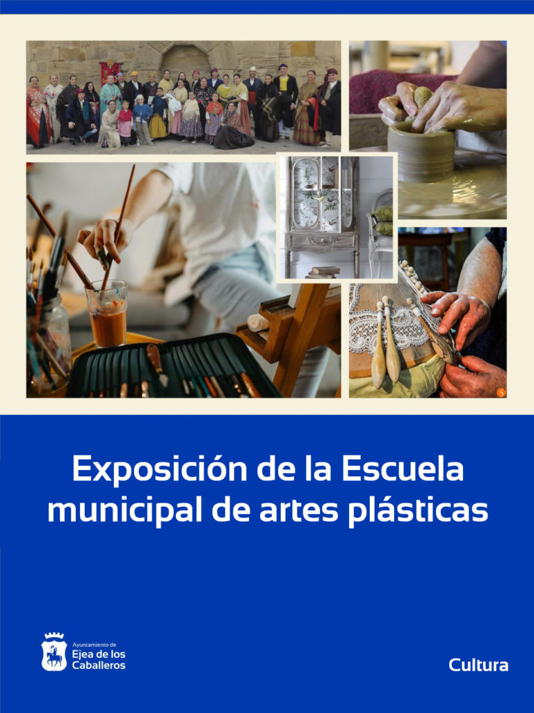 Recta final de la exposición de la Escuela municipal de artes plásticas
