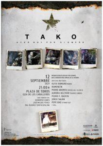 Todo listo para el singular concierto de TAKO y sus artistas invitados: con entradas agotadas, será retransmitido en Streming